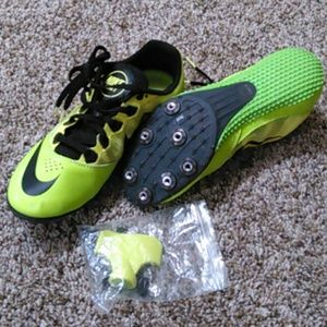 Nike track shoe